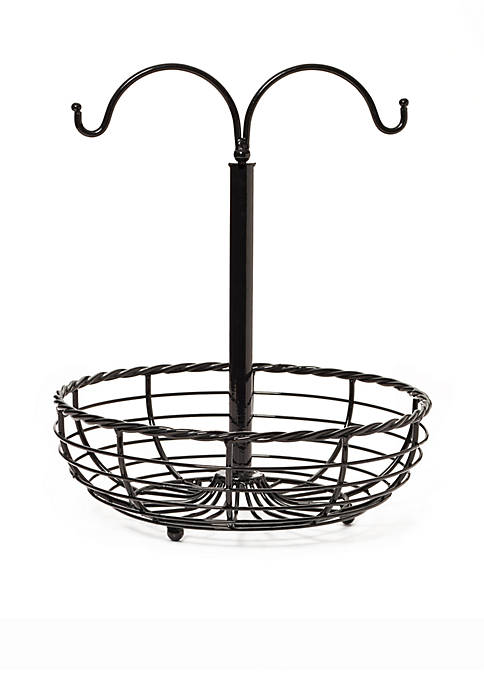 Mikasa Gourmet Basics Rope Basket with Double Banana