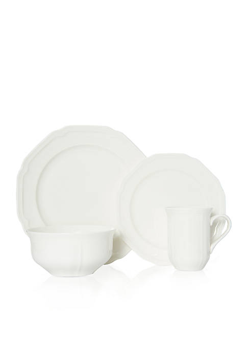 Mikasa Antique White 4-Piece Place Setting