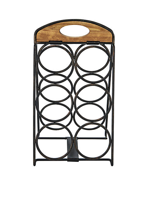 Mikasa Foldable 6-Bottle Wine Rack