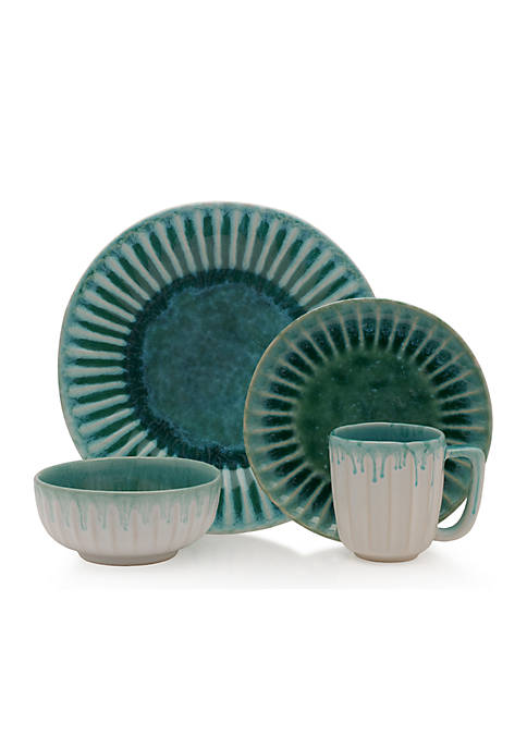 Monterey Green 4-Piece Place Setting