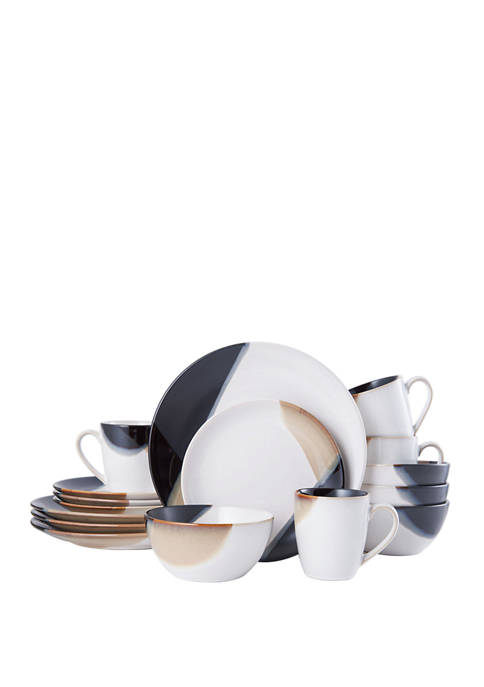Gourmet Basics by Mikasa Caden 16 Piece Dinnerware