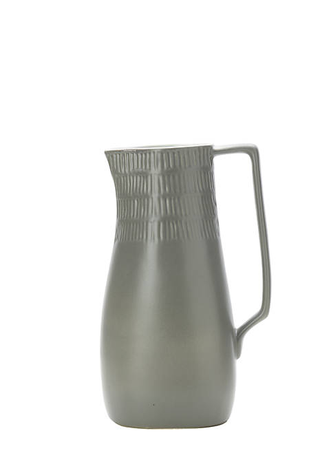 Marbella Gray Pitcher, 84-oz