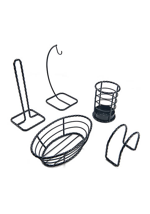 Gourmet Basics by Mikasa 5-pc. Wire Pantry Set