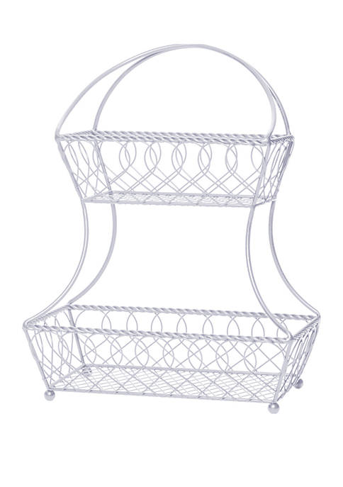 Gourmet Basics by Mikasa 2 Tier Basket