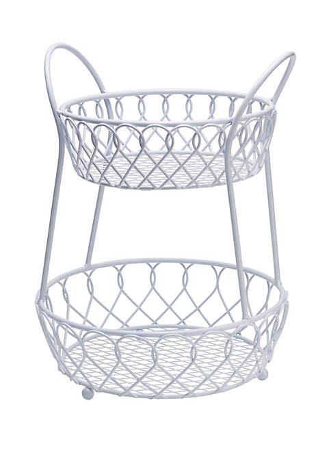 2 Tier Basket
