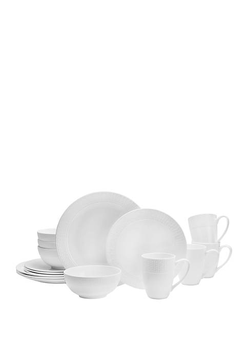 Abbey 16-Piece Dinnerware Set
