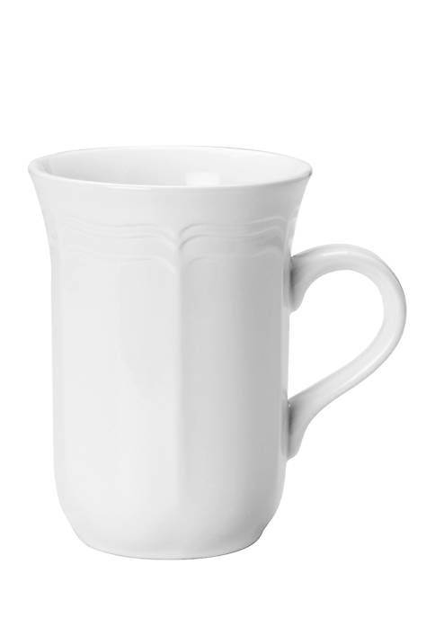 Mikasa Antique White Cappuccino Mug 14-oz.