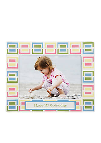 Gorham Merry Go Round Pitter Patter I Love My Godmother 5x7 Frame Belk