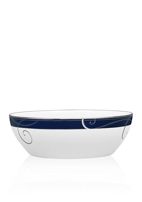 Noritake Indigo Large Round Vegetable Bowl