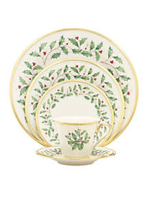 lenox holiday dinnerware