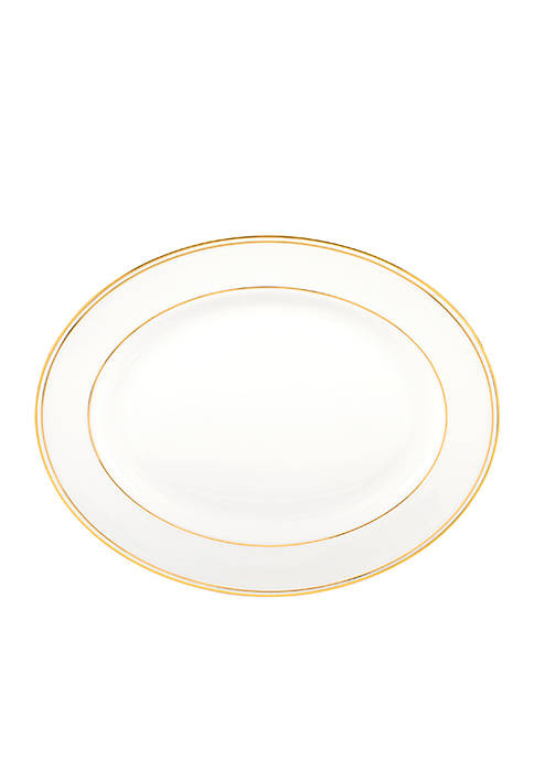 Federal Gold Oval Platter