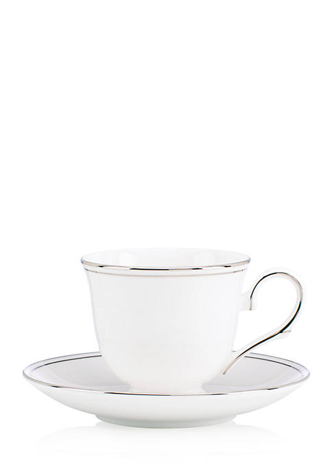 Lenox® Federal Platinum 2-Piece Tea Cup & Saucer