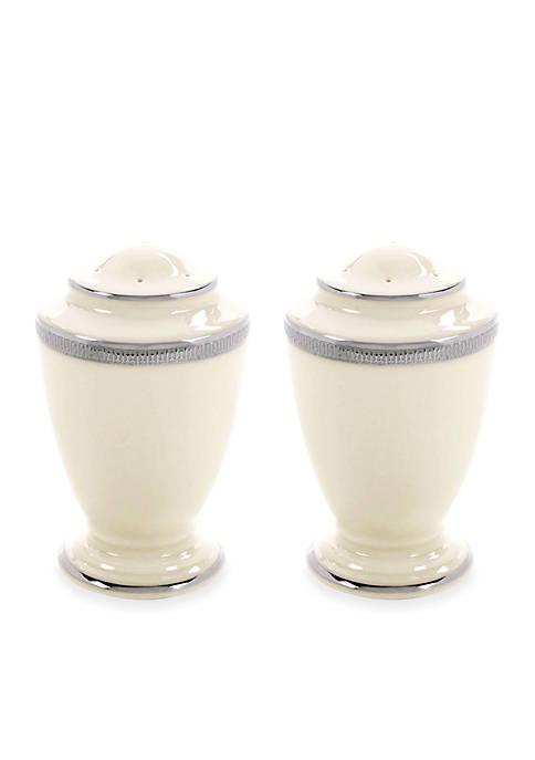 Lenox® Tuxedo Platinum Salt & Pepper Shaker 3.4-in.