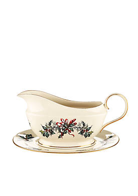 Lenox winter greetings dinnerware belk winter greetings sauce boat m4hsunfo