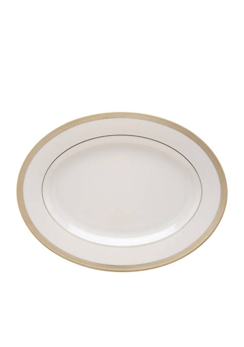Lenox® Lowell Oval Platter 16-in. dia