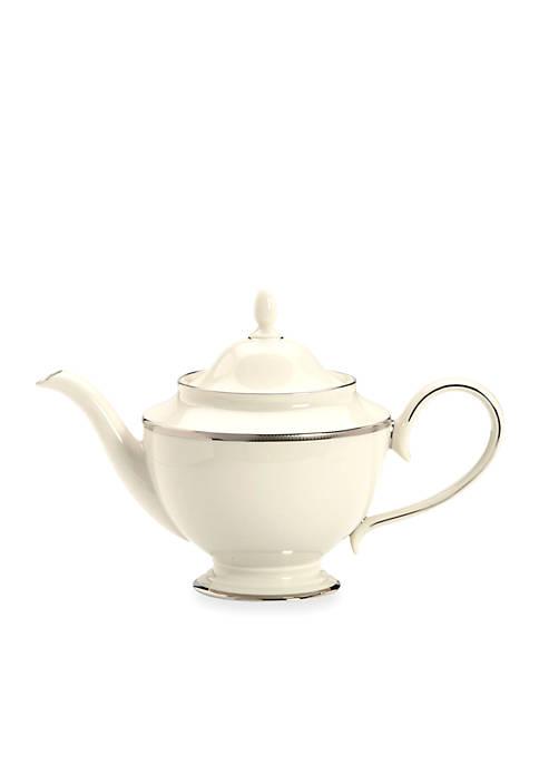 Lenox® Tuxedo Platinum Teapot 40-oz.