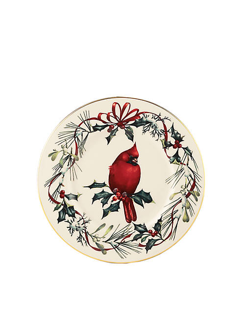 Lenox® Winter Greetings Cardinal Accent Plate