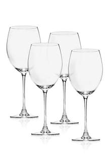 Tuscany Classics Grand Bordeaux Wine Glass Set of 4