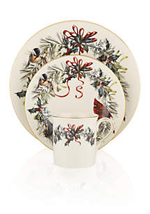 Winter Greetings 12-pc Dinnerware Set