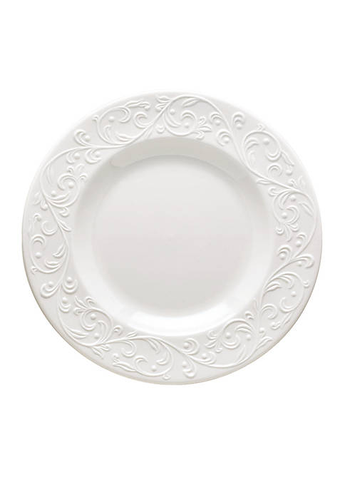 Lenox® Opal Innocence Carved Dinnerware Salad Plate