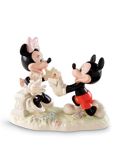 Lenox® Mickey & Minnie Dream Proposal Figurine