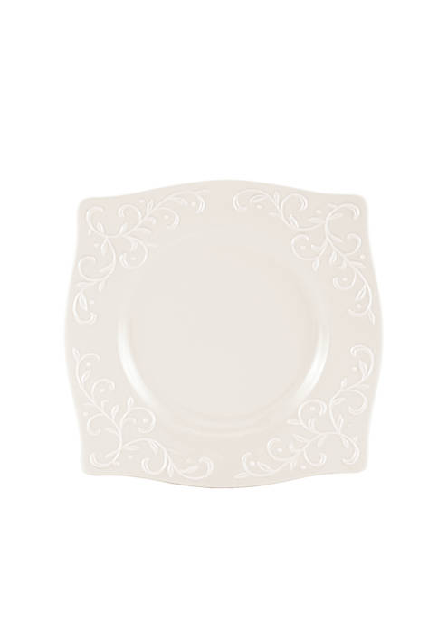Lenox® Opal Innocence Carved Dinnerware Square Accent Plate