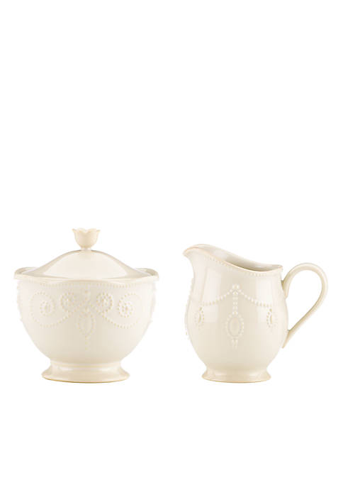 Lenox® French Perle White Sugar & Creamer Set