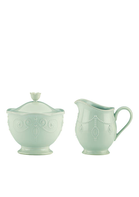 Lenox® French Perle Ice Blue Sugar and Creamer