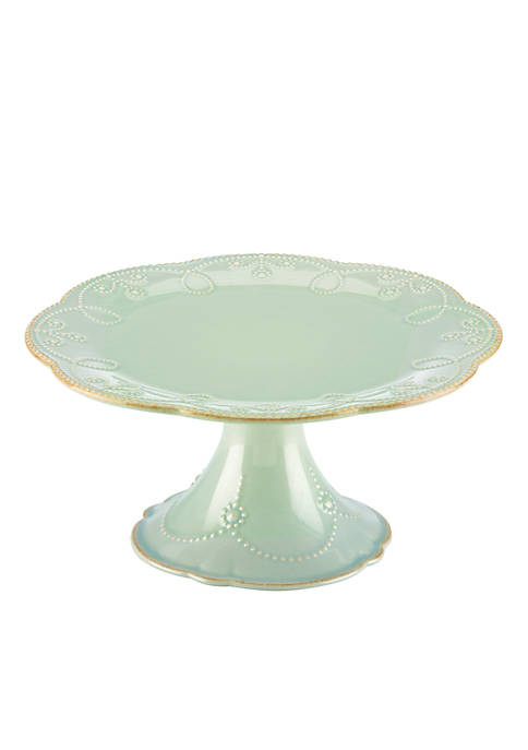 Lenox® French Perle Ice Blue Pedestal Cake Plate