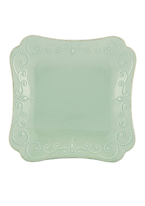 Lenox® French Perle Ice Blue Square Dinner Plate