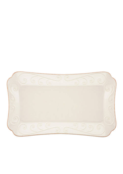 French Perle White Hors doeuvres Tray
