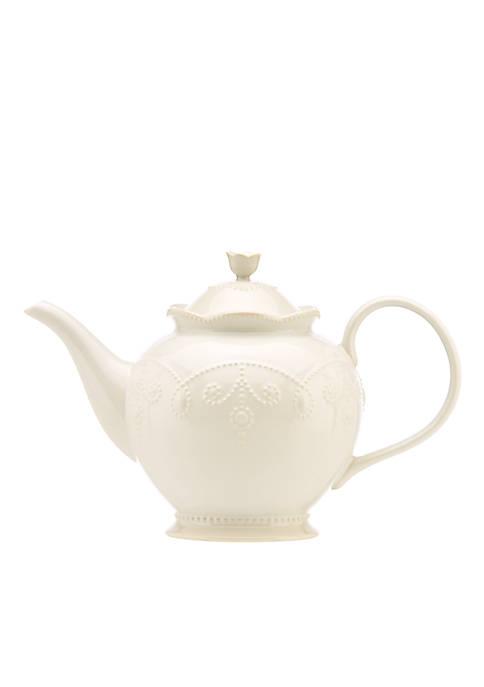 Lenox® French Perle White Teapot