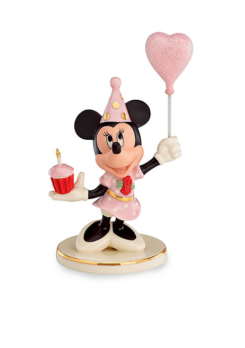 Lenox® Birthday Cheer from Minnie Mouse Figurine