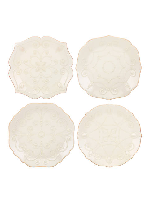 Lenox® French Perle White Set of 4 Dessert