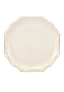 French Perle Bead Salad Plate 9 in.