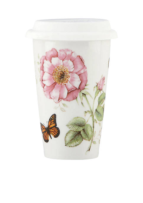 Butterfly Meadow Dinnerware Thermal Travel Mug 12-oz.