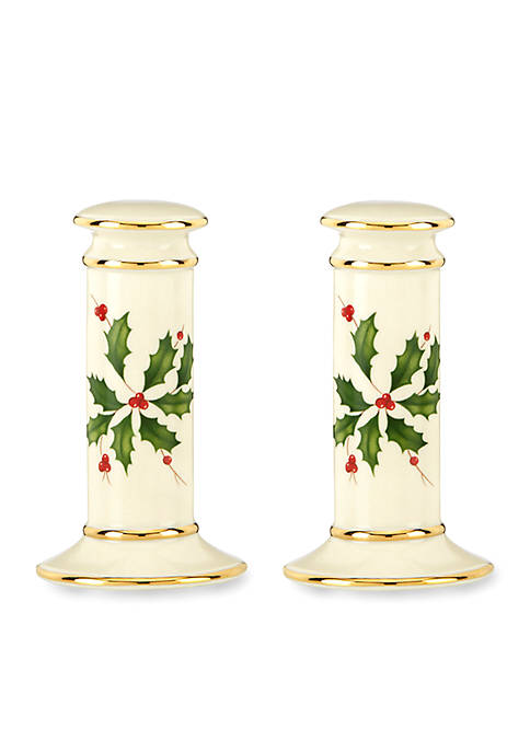 Lenox® Holiday Salt and Pepper Shakers