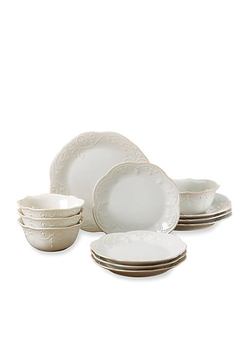 Lenox® French Perle 12-Piece Dinnerware Set