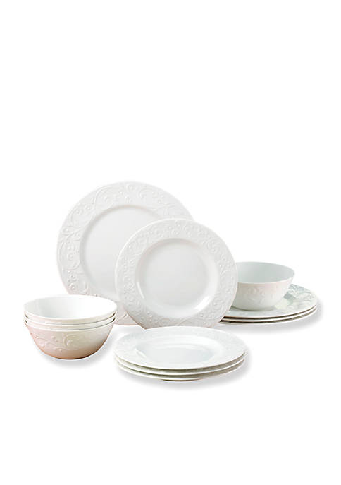 Lenox® Opal Innocence Carved 12-Piece Set