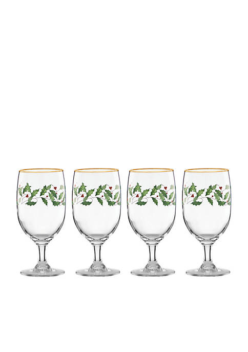 Lenox® Holiday Iced Beverage Set of 4