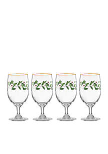 Holiday Iced Beverage Set of 4