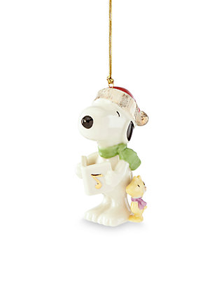 Snoopy And Woodstock Christmas Ornaments.Lenox Snoopy And Woodstock Christmas Ornament