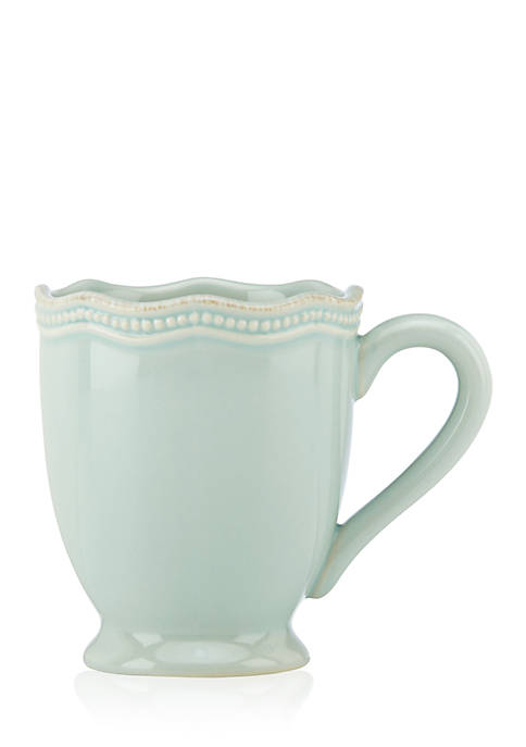 Lenox® French Perle Bead Ice Blue Mug