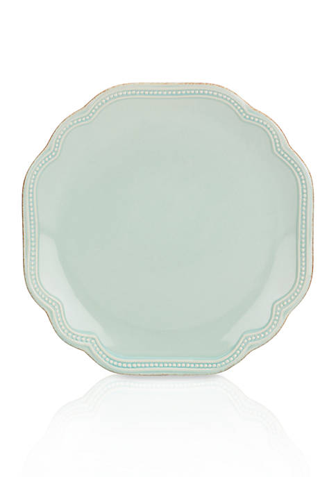 Lenox® French Perle Bead Ice Blue Accent Plate
