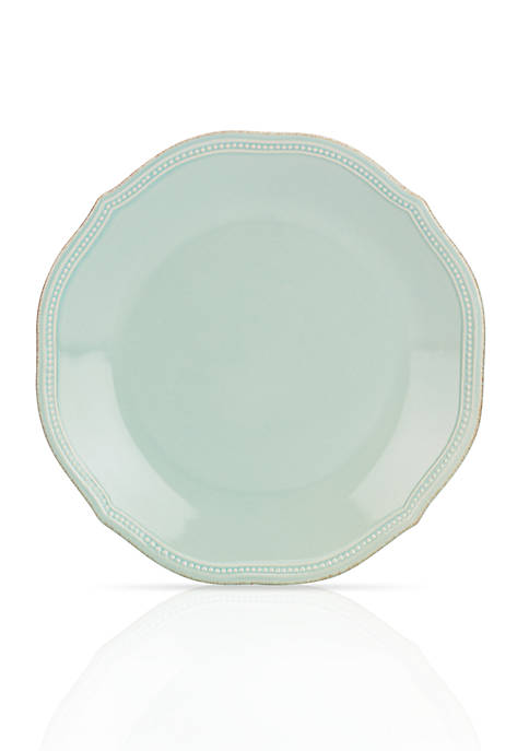 Lenox® French Perle Bead Ice Blue Dinner Plate