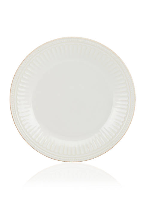 Lenox® French Perle Groove White Dinner Plate