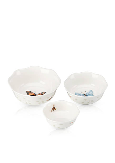Lenox® Butterfly Meadow Dinnerware Set of 3 Prep