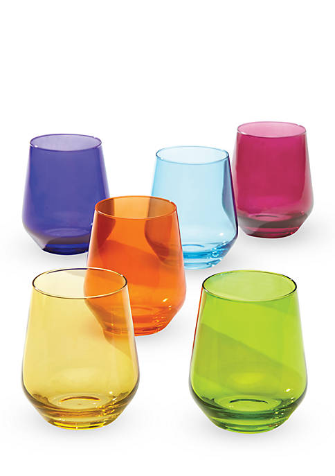 Tuscany Classics Cool Colors Assorted - Set of 6