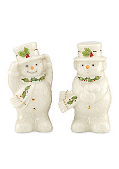 Lenox® Happy Holly Days Snowman Salt and Pepper Shakers