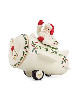 Lenox Santas Holiday Special Delivery Cookie Jar